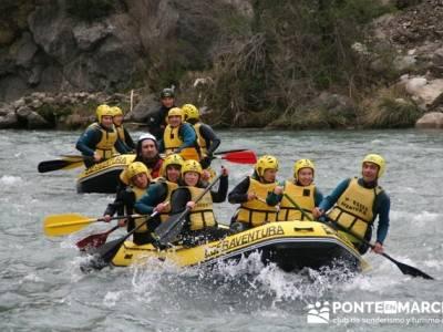 Rafting río Ara; turismo por guadalajara; parques naturales de la rioja